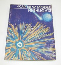 1989 Chrysler New Model Highlights Book Good Used Condition - $9.85