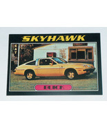 1976 Topps Autos of 1977 #7 Buick Skyhawk Card VG-EX Condition - $14.83