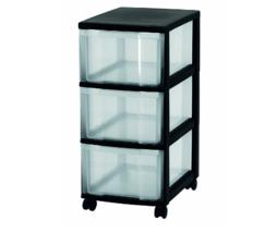 Storage Drawers Chest Tower Organizer Wheels Plastic Clothes Tools Stati... - $59.44
