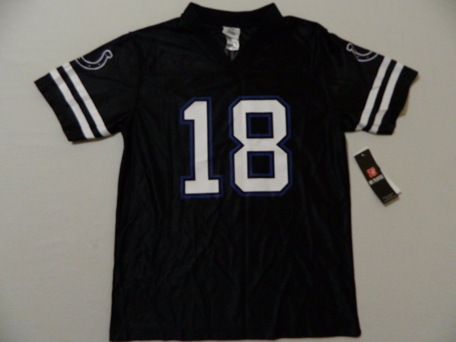 Primary image for M55 NFL TEAM APPAREL Black Indianapolis Colts Peyton Manning Jersey YOUTH Sizes
