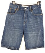 Levi's 569 Mens Size 30 Waist Loose Straight Fit Blue Jean Shorts - $15.40