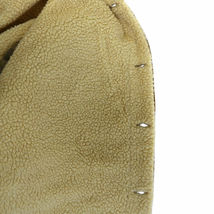 Men's Classic Button Up Fur Lined Corduroy Sherpa Brown Trucker Jacket image 3