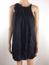 bebe Sleeveless Casual Mini Dress Women's 100% Silk Black Size S Small (P3) - $32.66