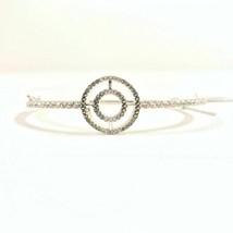 Swarovski Bracelet Marcasite Crystal Circle - $28.38