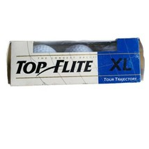 Top Flight XL Tour Trajectory Golf Balls White 3 Pack Spalding  - $6.50