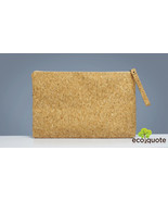 """EcoQuote Eco Friendly 14"""" Laptop / iPad Pouch Handmade Cork Material for... - $31.00"""