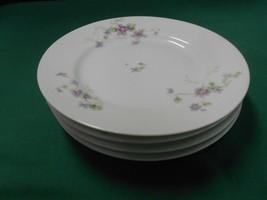 Magnificent Haviland Limoges J.Mc D & S.Co..Set Of 4 BREAD-SALAD-DESSERT Plates - $29.51