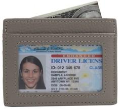 Linscra Small Genuine Leather RFID Blocking Minimalist Wallet Credit ID Card Hol - $17.17