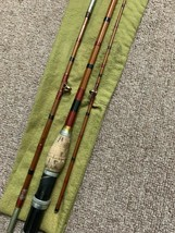 Vintage Bamboo Fly Fishing Rod 3 Piece - $66.49