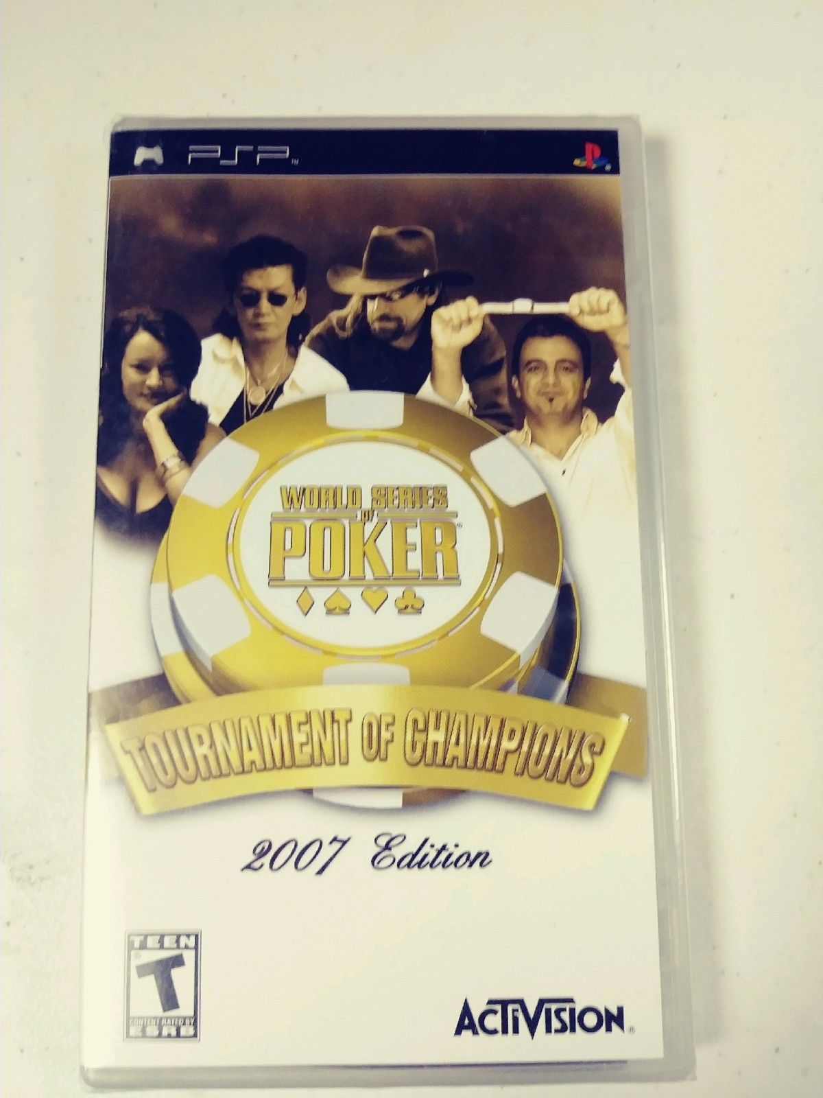 World Series of Poker Tournament of Champions 2007 Edition PSP GAMEW NEW SEALED