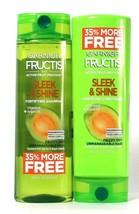 Garnier 16.2 Oz Sleek & Shine Vitamin E Argan Oil Shampoo & Conditioner Set - $20.99