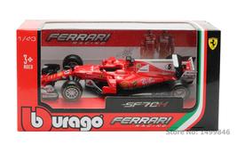BBurago Racing Car Model Toy 1:43 Diecast ABS F1 Formula Car Toy SF70H NO.5 - $23.00