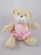 "Koala Baby Pink Bear Bean Plush 7.5"" Long Stuffed Animal toy - $6.95"