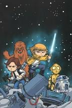Skottie Young SIGNED Marvel Comics Star Wars Art Print ~ Luke Skywalker Han Solo - $44.54