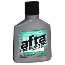 Afta Pre-Electric Shave Lotion With Skin Conditioners Original 3 oz Pack of 3 image 3