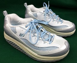 Skechers Shape Ups Womens 8.5 US Sneakers Toning Walking Exercise Rocker... - $34.87
