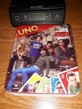 Uno Game The Big Bang Theory Edition 2 Cards Missing Metal Tin Container - $4.95