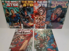 SUPERMAN: MAN OF STEEL SET - 1 - 5 - NEAL ADAMS - FREE SHIPPING - $23.38