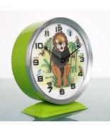 BAYARD LION KING Alarm Clock Disney Mantel Motion! Rare! Animated Vintag... - $249.00