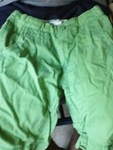 2 Old Navy Place Size 8 Beige Green Cargo Shorts - $14.49