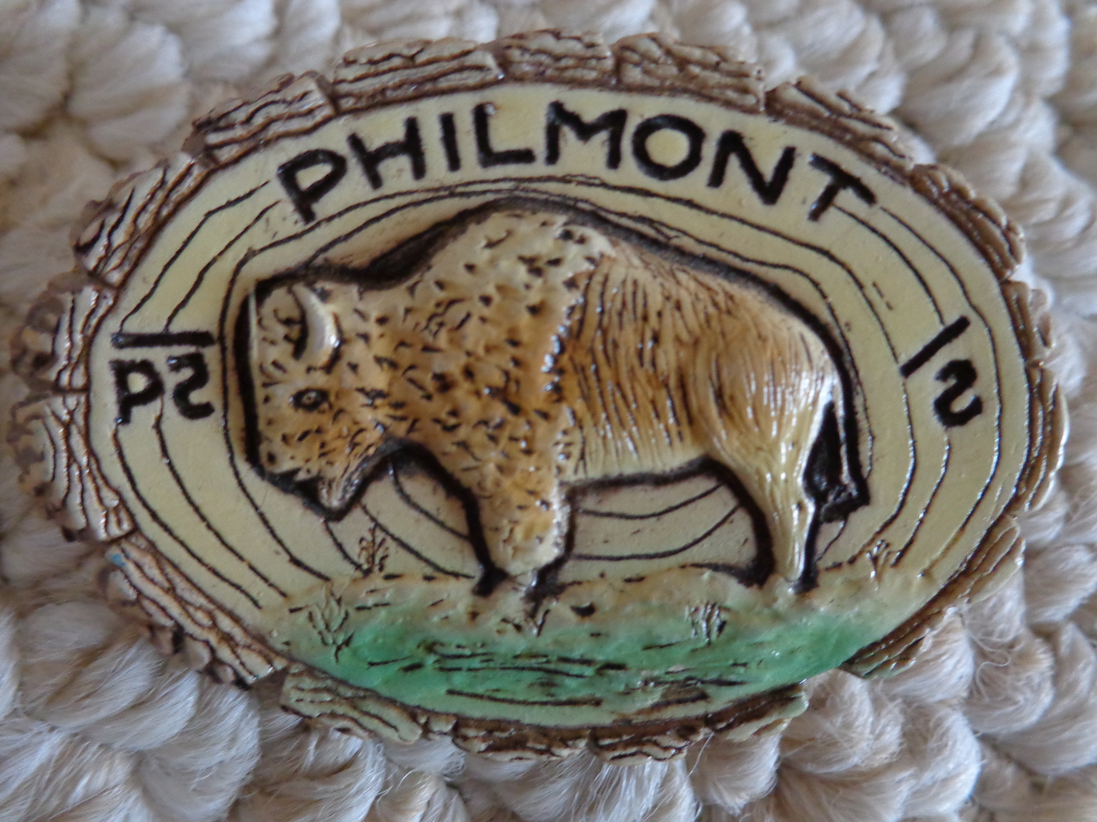 Vtg. Collection of 6 B.S.A. Neckerchief Slides from Philmont Scout Ranch (#1629)