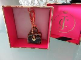 New Juicy Couture Black Handbag Charm - Limited Edition 2014 - So So Cut... - $49.50