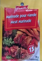 12 French's Meat Marinade Seasoning Mix 28g Each -From Canada FRESH Delicious - $32.92