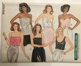 Butterick Classics Sewing Pattern 3031 Sleeveless Top Shirt Blouse 1980s Uncut - $8.90+