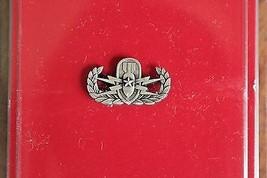 US ARMY MESS DRESS MINI SENIOR EXP ORD DISP ANTIQUE SILVER QUALIFICATION... - $8.90