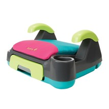 Backless Booster Car Seats Kid Toddler Pull Out Storage Drawer Cup Holde... - $57.74