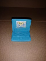 Barbie Blue Laptop Blue Mattel 1998 - $7.50