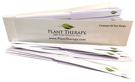 Plant Therapy Essential Oil Fragrance Test Strips- book of 40