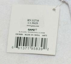 Ganz Ella Jackson Tie Suspenders Diaper Shirt Size 0 to 6 Months image 6