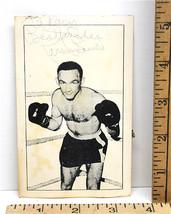 "Carmine Basilio Autographed Photo World Champ Boxer ""The Upstate Onion F... - $37.39"