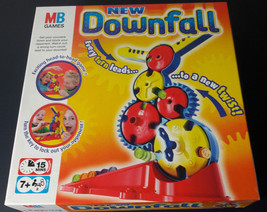 DOWNFALL MB Games 2004 Skill Strategy  Family Fun Game. Near complete - $13.24
