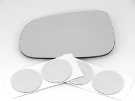 Fits 09-11 Jaguar XF XJ8 VDP Left Driver Heated Mirror Glass Lens w/out Holder - $42.52