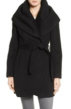 Tahari Wool Blend Belted Wrap Coat Brand New  FREE SHIP. - $133.00
