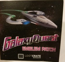 Galaxy Quest Emblem Patch Quantum Mechanix Prop Replica Exclusive QMx - $9.01
