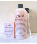 VTG Philosophy AMAZING GRACE 2 oz  EDT & 32 oz Perfumed Bath Gel Sealed HTF - $150.00