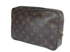 Auth Louis Vuitton Trousse Toilette 23 Monogram Canvas Cosmetic Pouch Bag LP2562 - $159.00
