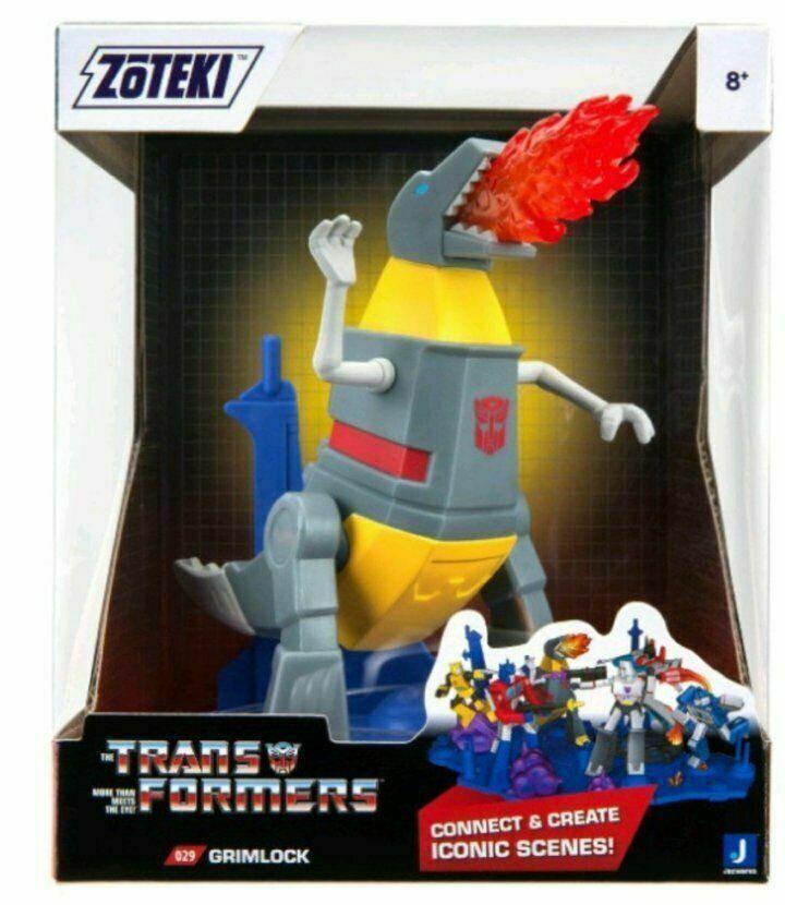 "2021 Jazwares Zoteki Transformers Grimlock Diorama 6"" Action Figure NEW SEALED"