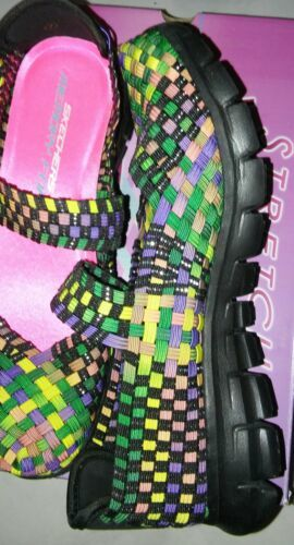 New Skechers Skech-Air Women's Weave Fabric Style-Ta-Da! Shoes Size 7 Don't Miss