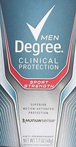 Degree Men Clinical Protection Sport Strength Antiperspirant & Deodorant... - $19.65