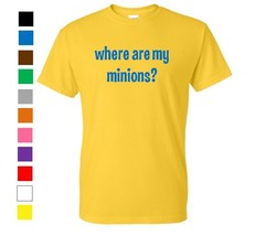 Minions Despicable Me T-Shirt - Geek Nerd Funny Humor Shirt Graphic Gift - $12.59+