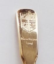 Collector Souvenir Spoon Canada Newfoundland Coat of Arms Goldtone - $4.99