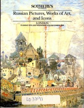 Sotheby's Auction Catalog Kino: Russian Pictures/Art/Icons December 1989... - $26.25