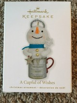 Hallmark Keepsake A Cupful Of Wishes Christmas Ornament New - $9.88