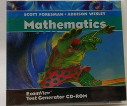 NEW: Foresman-Wesley Mathematics  ExamView Test Generator CD ROM software - $9.86