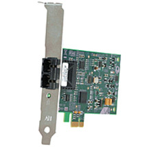 Allied Telesis Fast Ethernet Fiber Network Interface Card with PCI-Expre... - $74.20