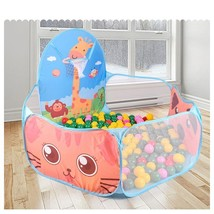 Portable Baby Playpen Outdoor Indoor Ball Pool Toddlers Play Tent Three ... - $20.92